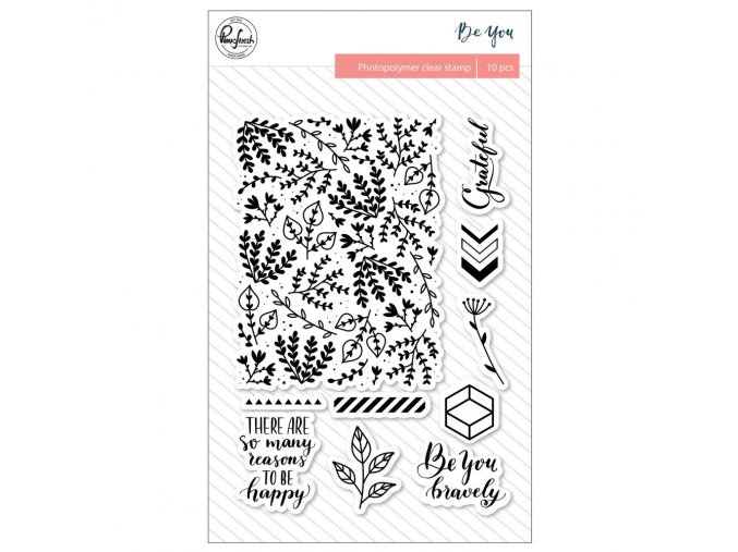 PINKFRESH STUDIO - Photopolymer Stamps - BE YOU