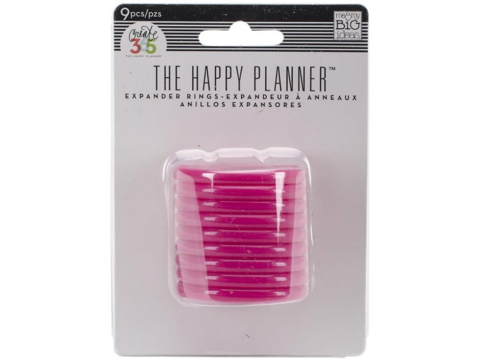 ME & MY BIG IDEAS - Expander Rings / Discs - PINK 1.75""