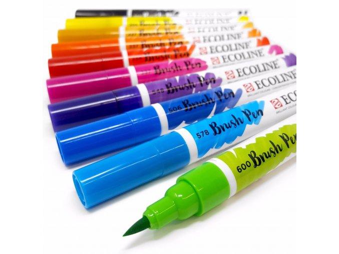 ROYAL TALENS ECOLINE - Brush Pen - 1 ks (31 barev)