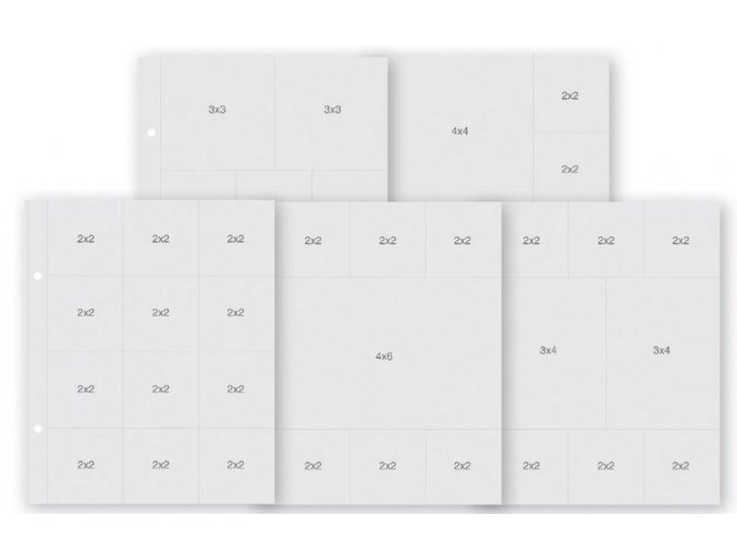 """SIMPLE STORIES - Sn@p! Insta Pocket Pages For 6""""X8"""" - VARIETY PACK"""