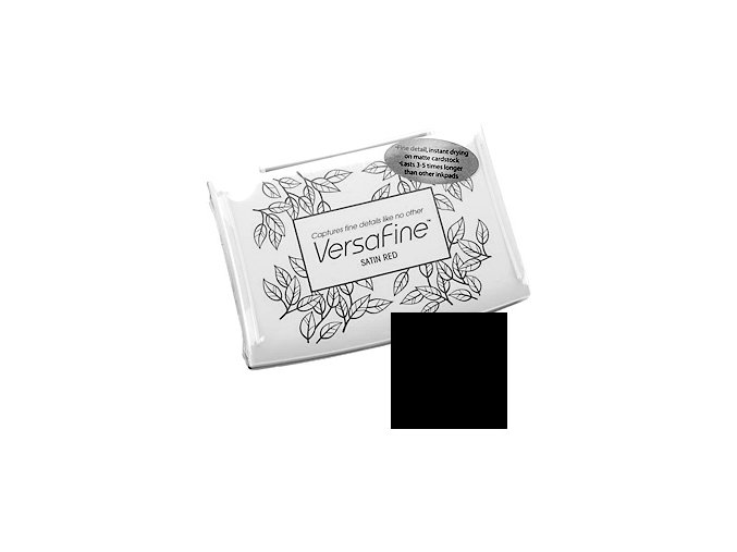 TSUKINEKO - VersaFine Pigment Ink Pad - ONYX BLACK
