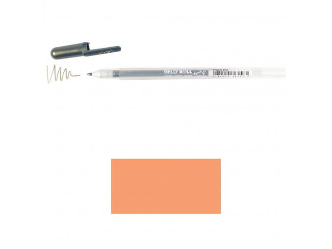 SAKURA - Gelly Roll Stardust Bold Point Pen - COPPER STAR