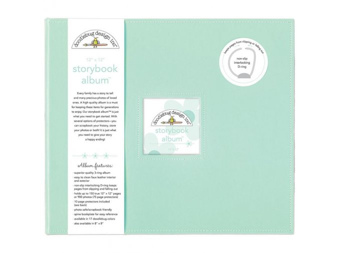 "*** DOODLEBUG - Storybook Album 12""X12"" - MINT"