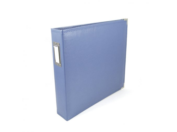 *** WE R MEMORY KEEPERS - Classic Faux Leather album - COUNTRY BLUE