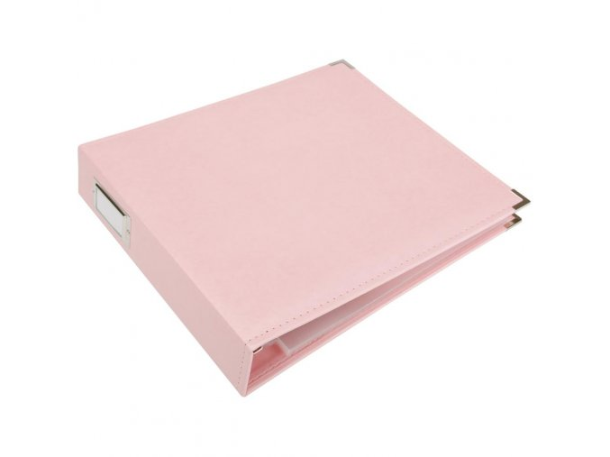 *** WE R MEMORY KEEPERS - Classic Faux Leather album - PRETTY PINK