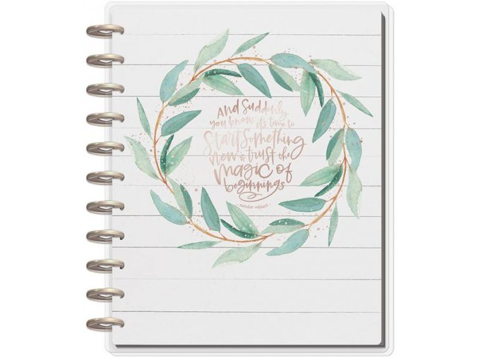 ME & MY BIG IDEAS - BIG Happy Memory Keeping - Undated Big Planner / RUSTIC