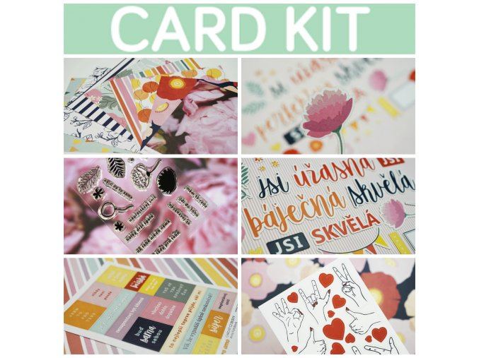PicMonkey Collage CARD KIT CZ BANNER
