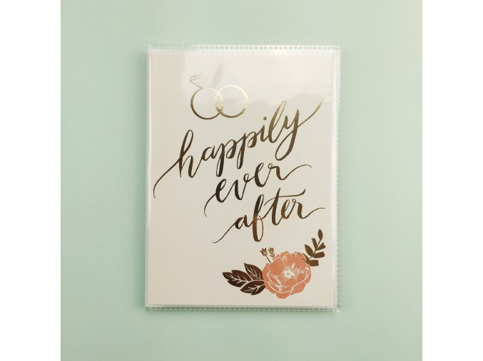 """FOTOALBUM 4""""X6"""" - HAPPILY EVER AFTER"""