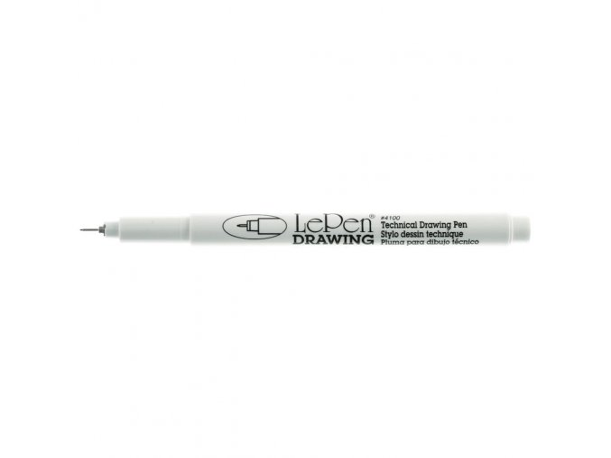 LePen DRAWING 0.1 mm Point - BLACK