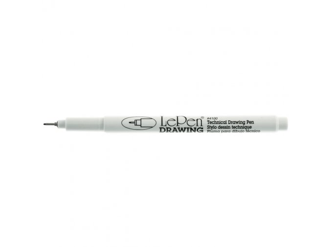 LePen DRAWING 0.5 mm Point - BLACK