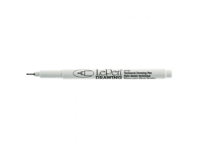 LePen DRAWING 0.8 mm Point - BLACK