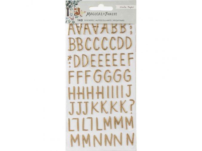 Samolepící pěnová abeceda - MAGICAL FOREST