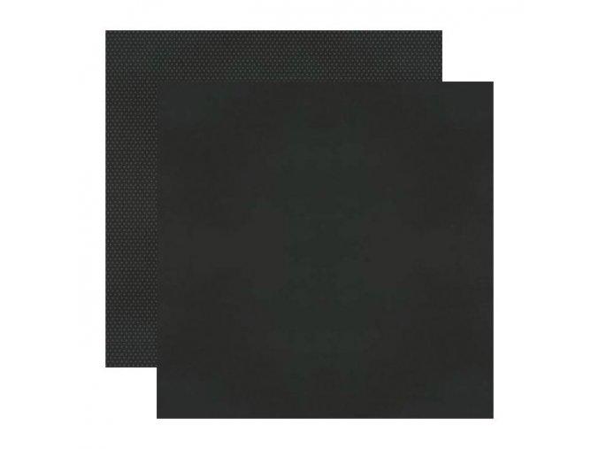 Strukturovaná čtvrtka COLOR VIBES - BLACK