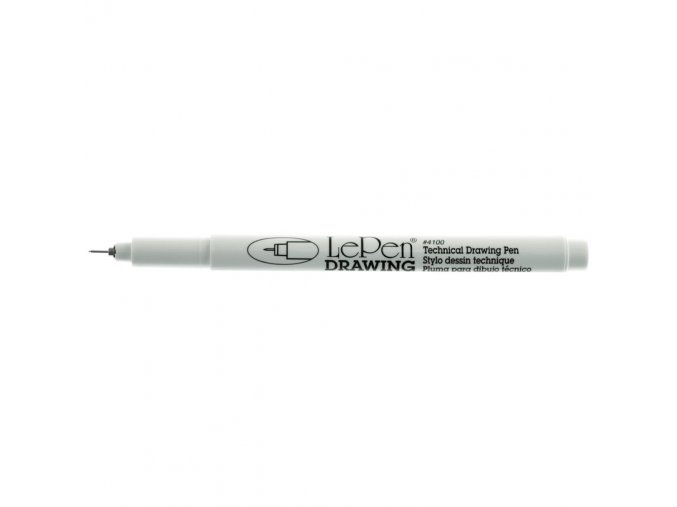 LePen DRAWING 0.03 mm Point - BLACK