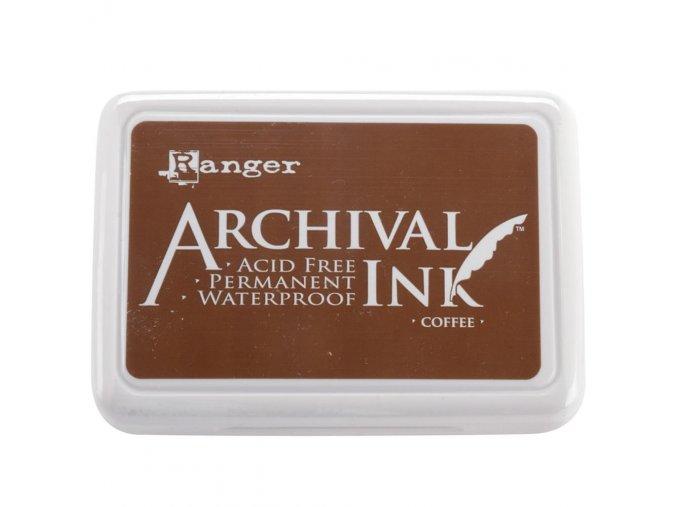 Razítkovací barva RANGER / Archival - COFFEE