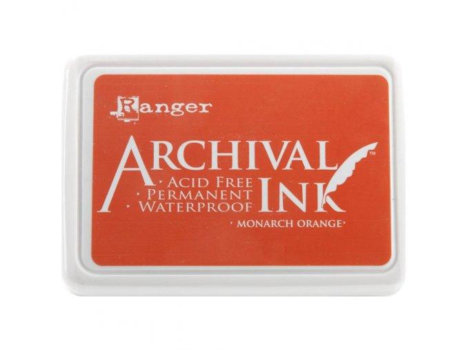 Razítkovací barva RANGER / Archival - MONARCH ORANGE