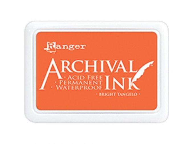 Razítkovací barva RANGER / Archival - BRIGHT TANGELO