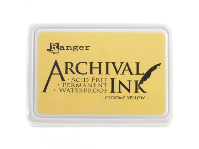 Razítkovací barva RANGER / Archival - CHROME YELLOW