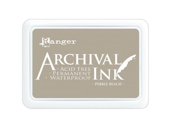 Razítkovací barva RANGER / Archival - PEBBLE BEACH