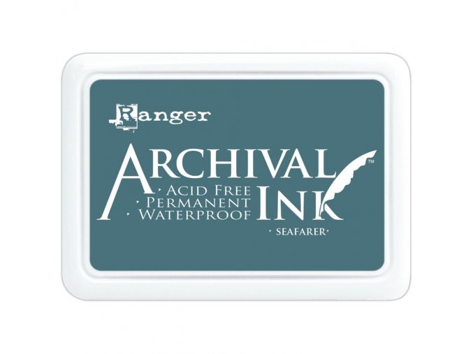 Razítkovací barva RANGER / Archival - SEAFARER