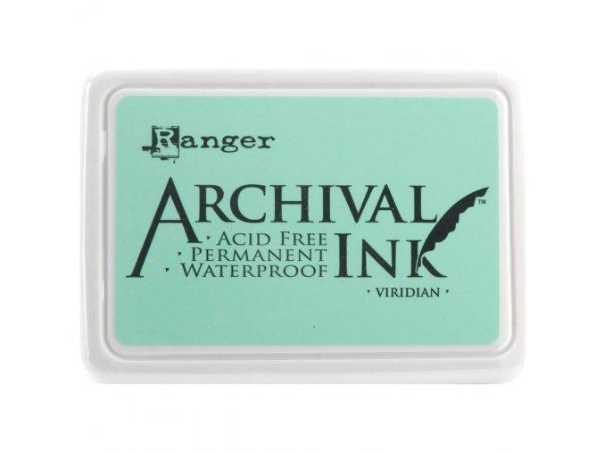 Razítkovací barva RANGER / Archival - VIRIDIAN