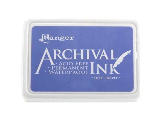 Razítkovací barva RANGER / Archival - DEEP PURPLE