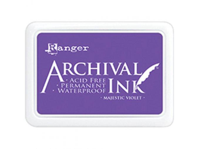 Razítkovací barva RANGER / Archival - MAJESTIC VIOLET