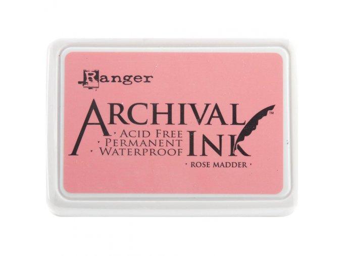Razítkovací barva RANGER / Archival - ROSE MADDER