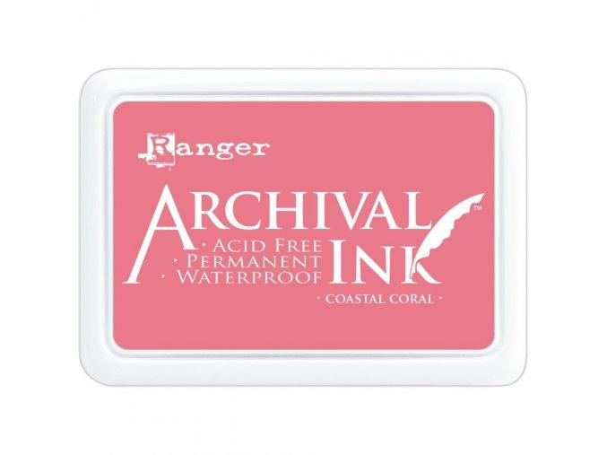Razítkovací barva RANGER / Archival - COASTAL CORAL