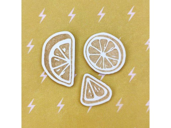 Chipboardové výseky - U VODY / Citrony