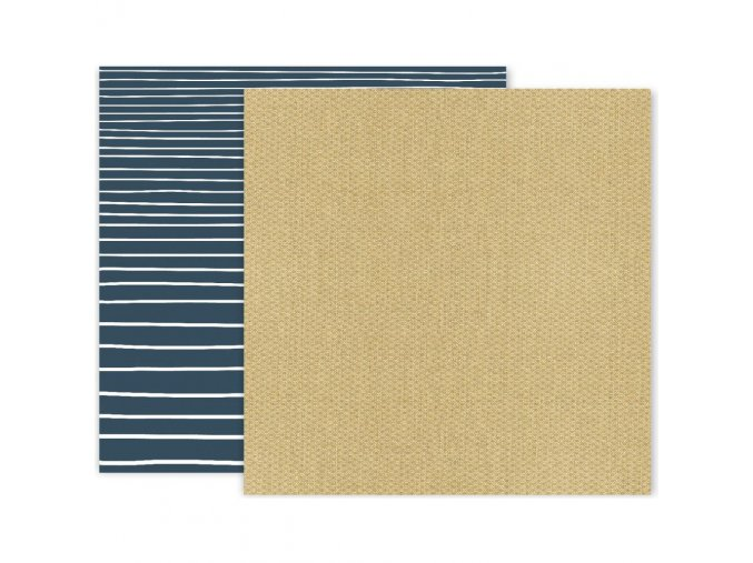 Scrapbookový papír - INDIGO & IVY - #06