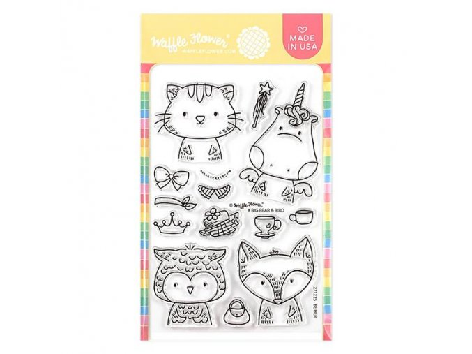 271225 Be Her Stamp Set