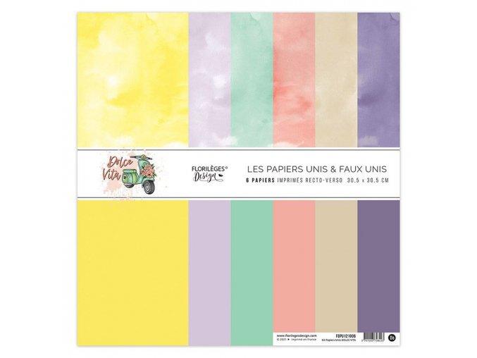 kit papiers unis dolce vita