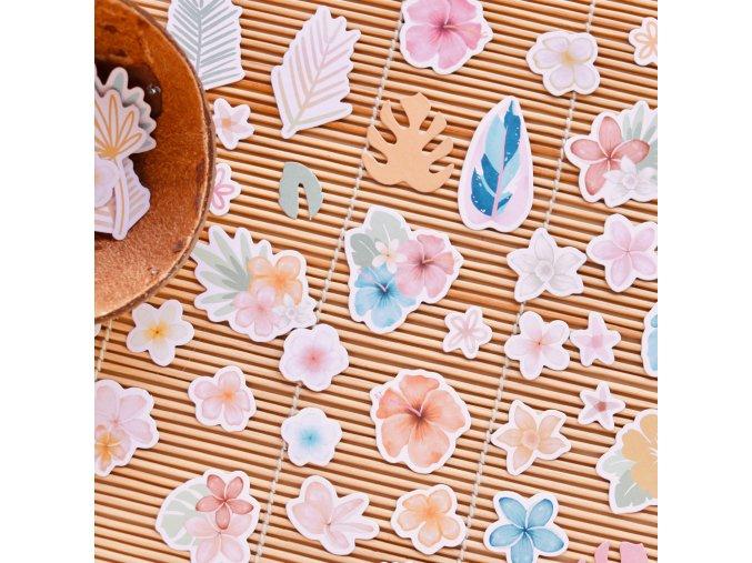 diecuts flores aloha