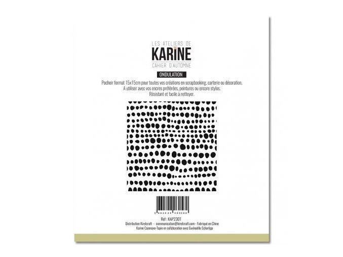 pochoir cahier d automne tout en rondeur les ateliers de karine