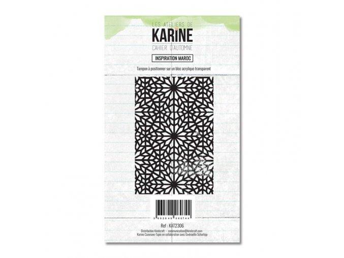 tampon transparent les ateliers de karine cahier d automne inspiration maroc