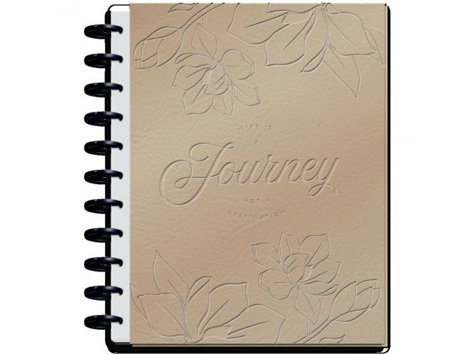 DELUXE HAPPY MEMORY KEEPING  - Big Photo Journal / LIFE IS A JOURNEY
