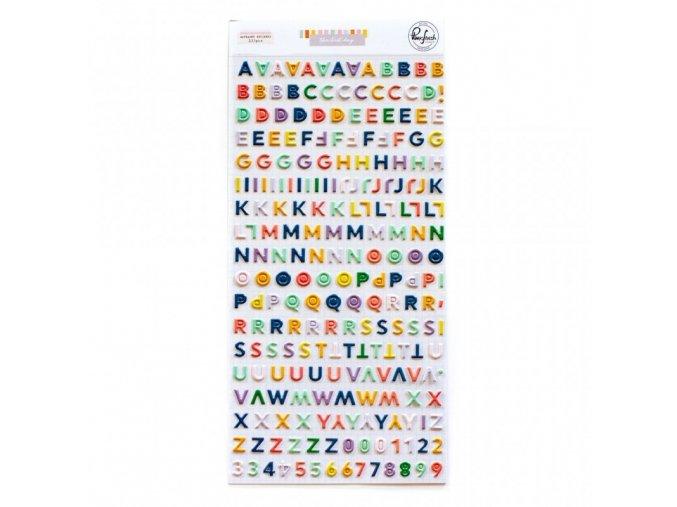 125821 mini alphabet sticker