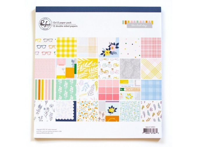 123921 12 x 12 paper pack