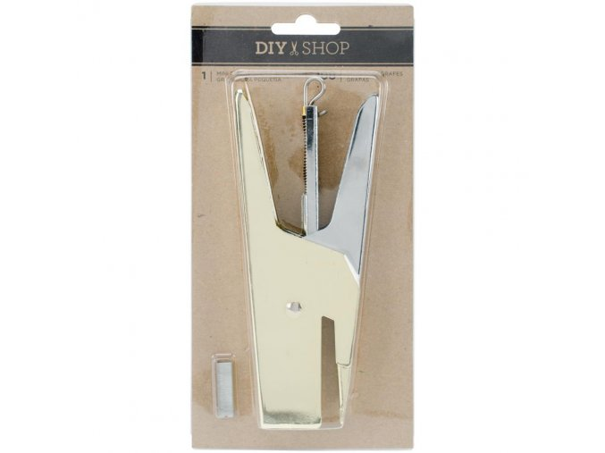 AMERICAN CRAFTS - DIY Shop 3 - MINI STAPLER GOLD