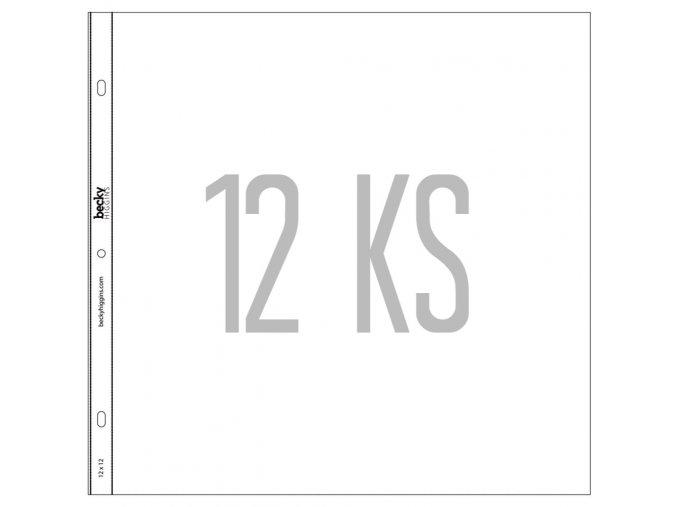 BECKY HIGGINS - náhradní kapsy do alba - 12x12