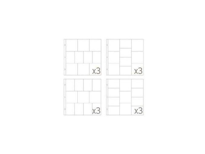 BECKY HIGGINS - náhradní kapsy do alba - SMALL VARIATY PACK 3