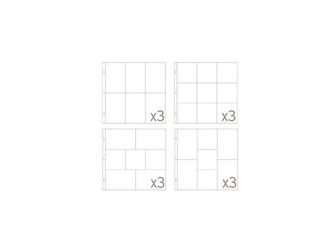 BECKY HIGGINS - náhradní kapsy do alba - SMALL VARIATY PACK 4