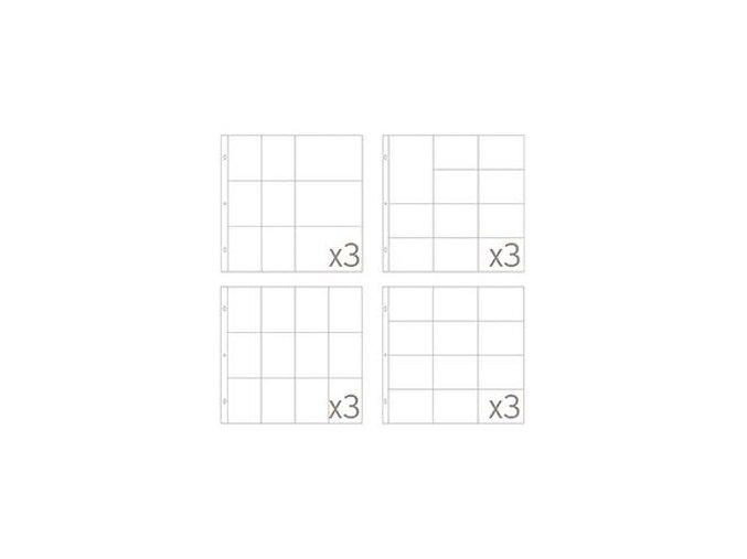 BECKY HIGGINS - náhradní kapsy do alba - SMALL VARIATY PACK 5