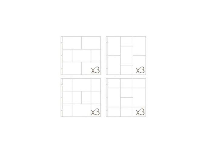 BECKY HIGGINS - náhradní kapsy do alba - SMALL VARIATY PACK 6