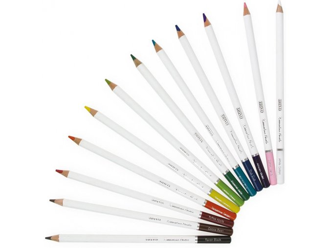 NUVO - Watercolor Pencils - BRILLIANTLY VIBRANT