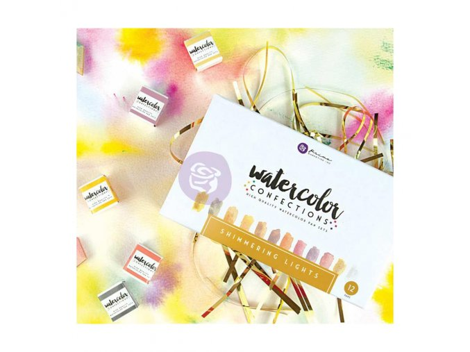 PRIMA MARKETING - Prima Watercolor Confections Watercolor Pans - SHIMMERING