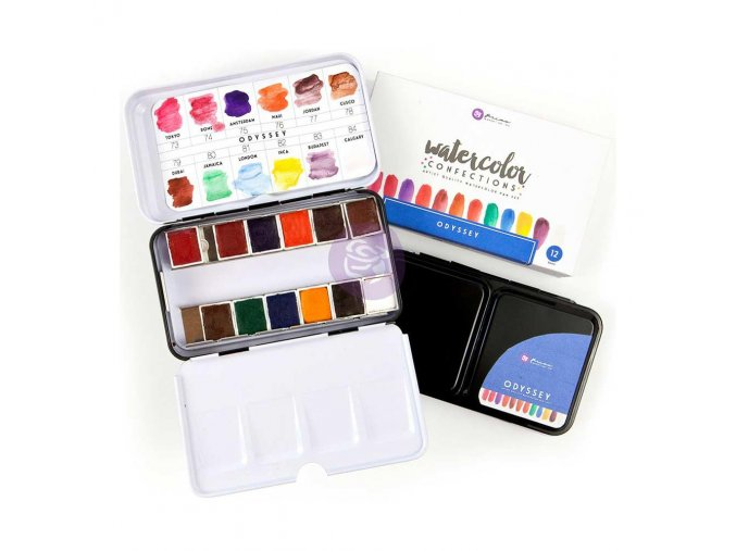 PRIMA MARKETING - Prima Watercolor Confections Watercolor Pans - ODYSSEY