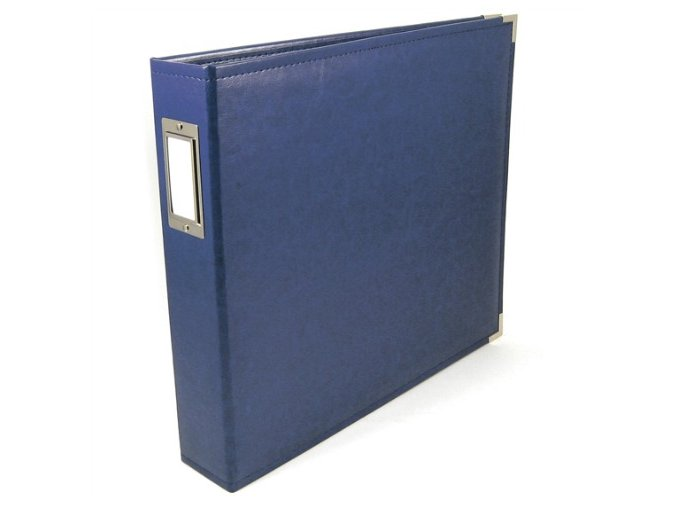 WE R MEMORY KEEPERS - Classic Faux Leather album COBALT
