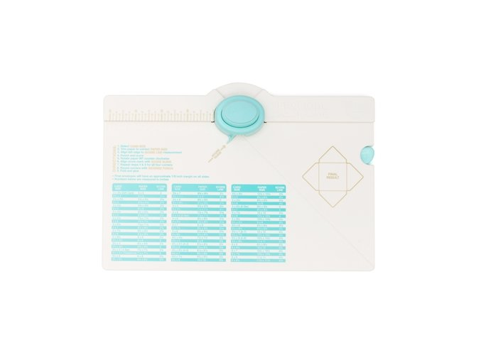 WE R MEMORY KEEPERS - Envelope Punch Board